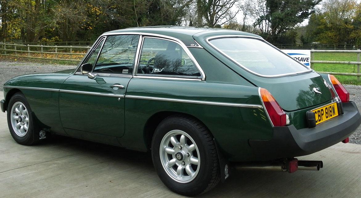 Classic MG GT