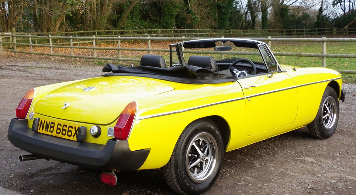 Classic 1981 MGB Roadster