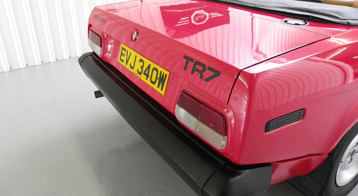 Triumph TR7 Convertible 1980