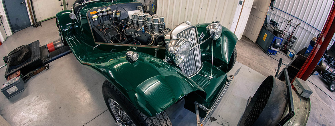 Classic Car Tuning - Rolling Road at Nutts Performance Classics