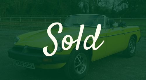 For Sale Classic 1981 MGB Roadster Nutts Performance Classics