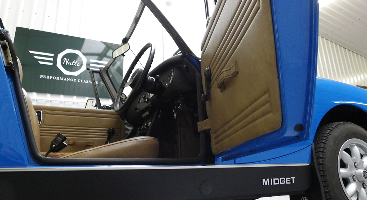 1980 MG Midget For Sale // Nutts Performance Classics