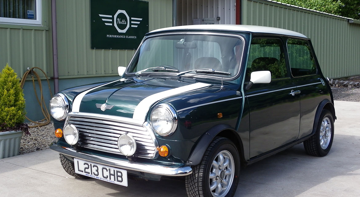 Mini Cooper in British Racing Green For Sale