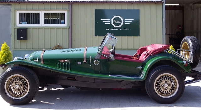 Historic Marlin Roadster Kit car.