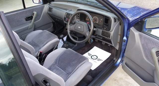 Ford MK4 XR3i Convertible
