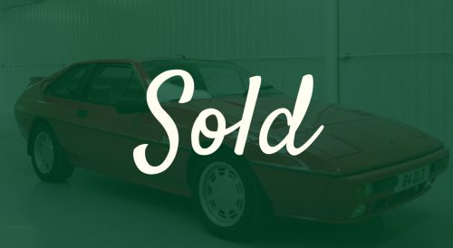 1986 Lotus Excel SE For Sale // Nutts Performance Classics